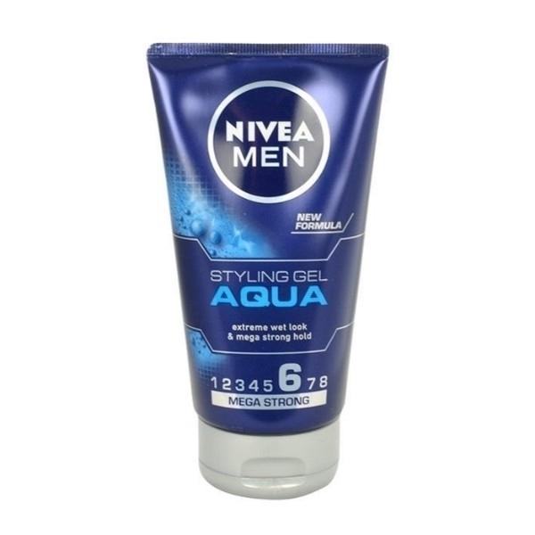 Nivea Men Aqua Hair Gel 150ml (Extra Strong Fixation) oμορφια   μαλλιά   styling μαλλιών   gel μαλλιών