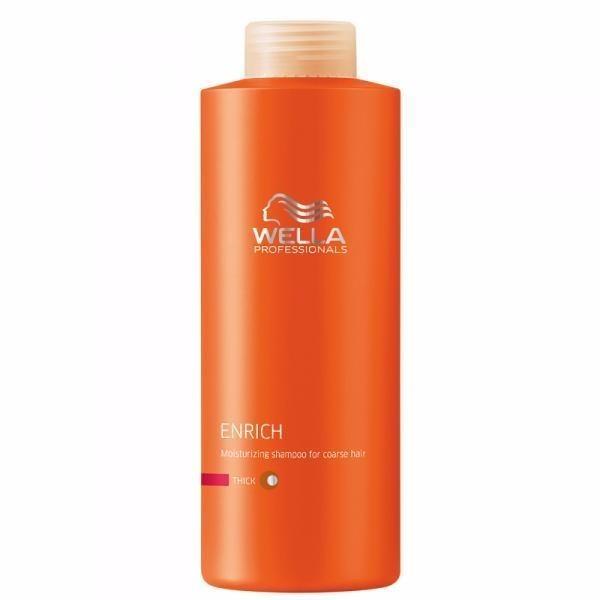 Wella Enrich Shampoo Thick Hair 1000ml