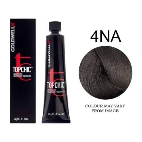 Goldwell Topchic (60ml) 4Na oμορφια   μαλλιά   βαφή μαλλιών   βαφές μαλλιών