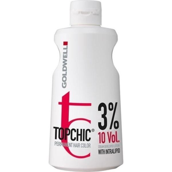 Goldwell Topchic Lotion 3% 1000ml oμορφια   μαλλιά   βαφή μαλλιών   γαλακτώματα ενεργοποίησης χρώματος