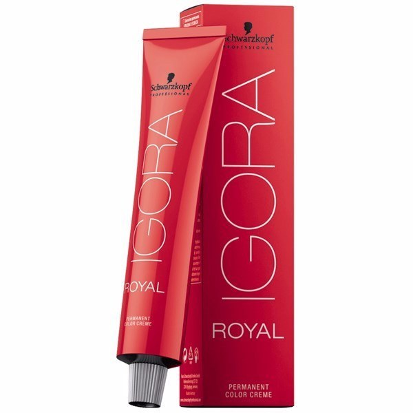 Schwarzkopf Igora Royal Permanent Color Creme 5-6 Καστανό Ανοιχτό Μαρόν