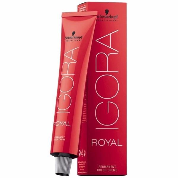 Schwarzkopf Igora Royal Permanent Color Creme 7-57 Ξανθό Μεσαίο Χρυσό Χάλκινο