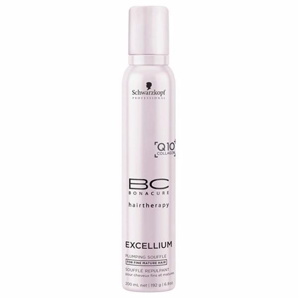 Schwarzkopf BC Excellium Plumping Souffle 200ml oμορφια   μαλλιά   styling μαλλιών   αφροί μαλλιών