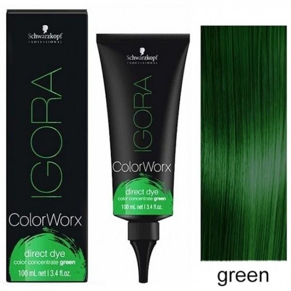 Schwarzkopf Igora Colorworx Green 100ml