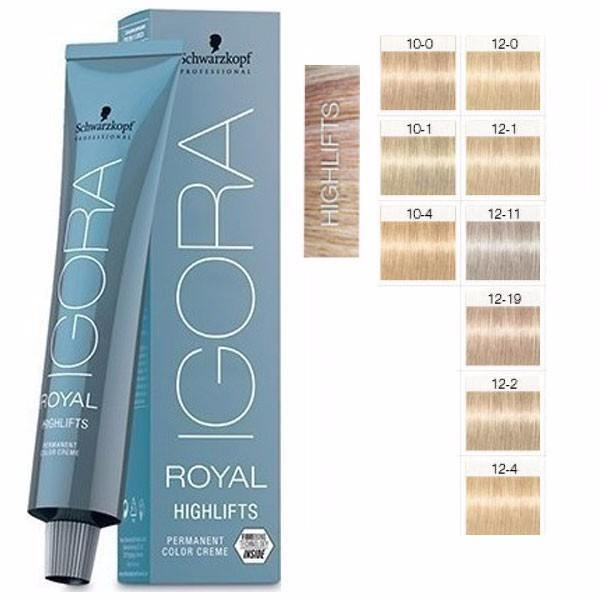 Schwarzkopf Igora Royal Highlifts 12-0 60ml