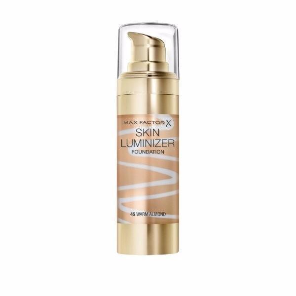 Max Factor Skin Luminizer Makeup 30ml 45 Warm Almond