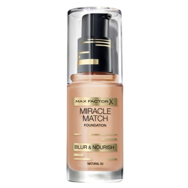 MAX FACTOR Miracle Match Blur & Nourish 50 Natural 30ml