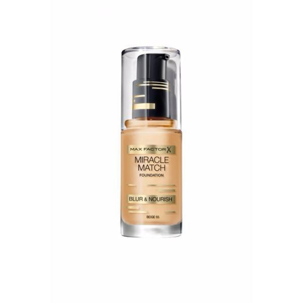 MAX FACTOR Miracle Match Blur & Nourish 55 Beige 30ml