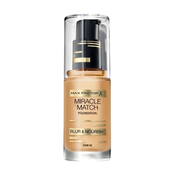 MAX FACTOR Miracle Match Blur & Nourish 60 Sand 30ml