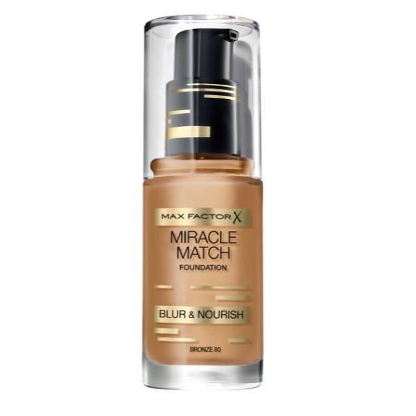 Max Factor Miracle Match Makeup 30ml 80 Bronze