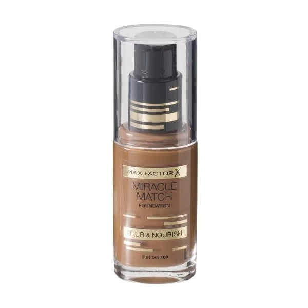Max Factor Miracle Match Blur 100 Sun Tan 30ml