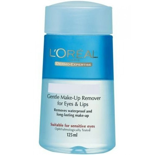 Loreal Gentle Eye Make Up Remover - Fine-Component Eye And Lip Make Up Remover 125ml