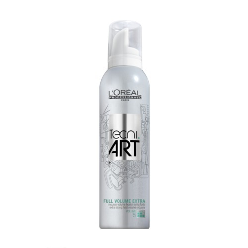L/oreal Professionnel Tecni.art Full Volume Extra Hair Mousse 250ml (Extra Strong Fixation)