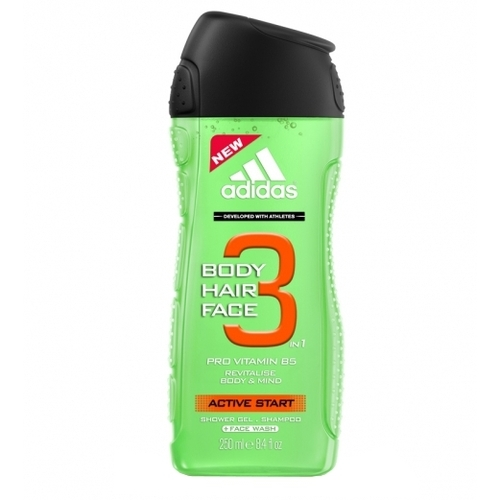 Adidas Active Start 3in1 Shower Gel 250ml