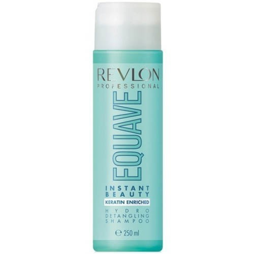 Revlon Professional Equave Instant Beauty Hydro Detangling Shampoo - Moisturizing Cleansing Shampoo With Keratin 250ml