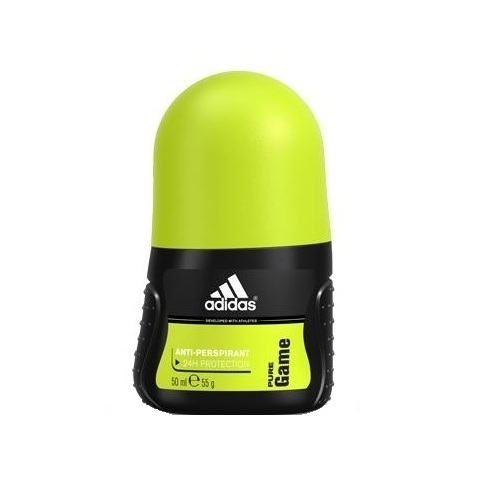 Adidas Pure Game Antiperspirant 50ml Aluminum Free (Roll-on)