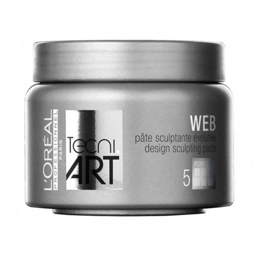 Loreal Professionnel Web Design Sculpting Paste - Modeling Paste 150ml oμορφια   μαλλιά   styling μαλλιών   κερί μαλλιών