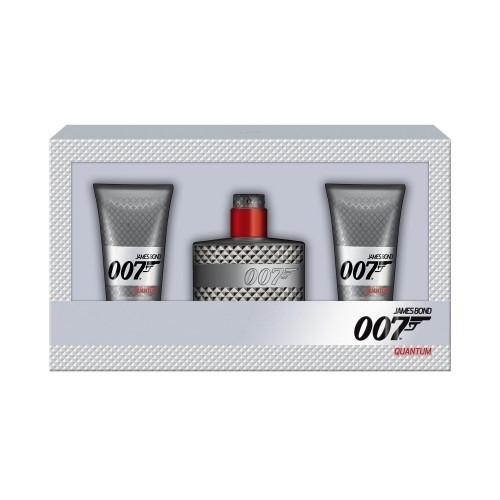 James Bond Quantum Edt 50Ml & 2X Shower Gel 50Ml