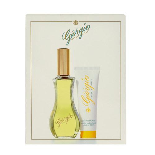 Giorgio Beverly Hills Giorgio Eau De Toilette 90ml Combo: Edt 90ml + 50ml Body Lotion