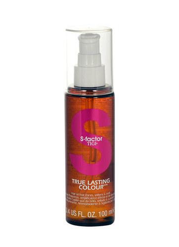 Tigi S Factor True Lasting Colour Hair Oil 100ml oμορφια   μαλλιά   αναδόμηση μαλλιών   λάδια μαλλιών