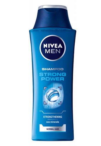 Nivea Men Strong Power Shampoo 400ml (Normal Hair)