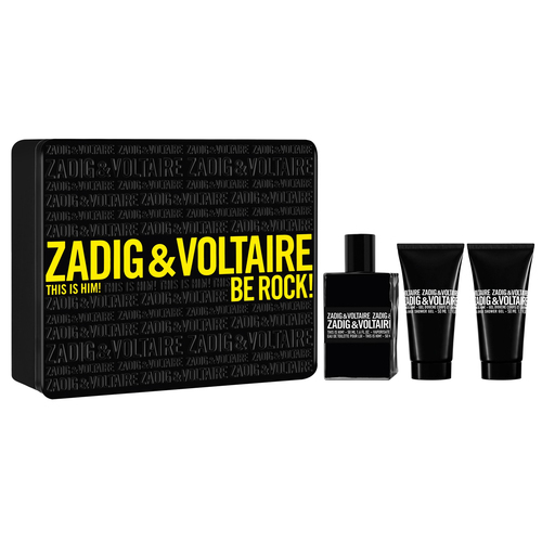 Zadig & Voltaire This Is Him! Eau De Toilette 50ml Combo: Edt 50 Ml + Shower Gel 2x 50 Ml