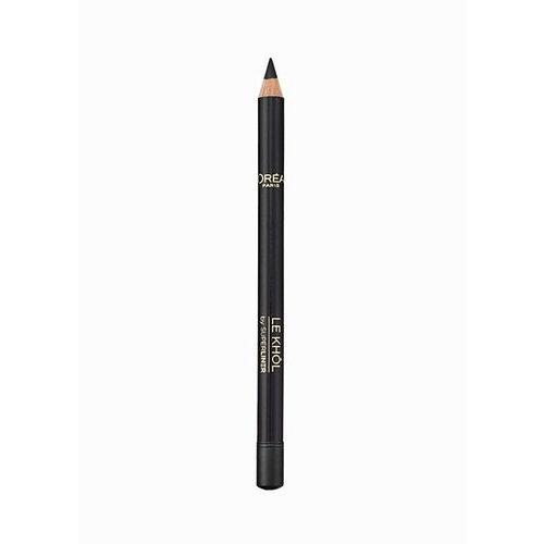 L/oreal Paris Super Liner Le Khol Eye Pencil 1,2gr 101 Midnight Black oμορφια   μακιγιάζ   μακιγιάζ ματιών   μολύβια ματιών