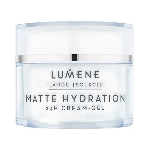 Lumene Source Matte Hydration 24 H Cream Gel 50ml oμορφια   πρόσωπο   κρέμες προσώπου