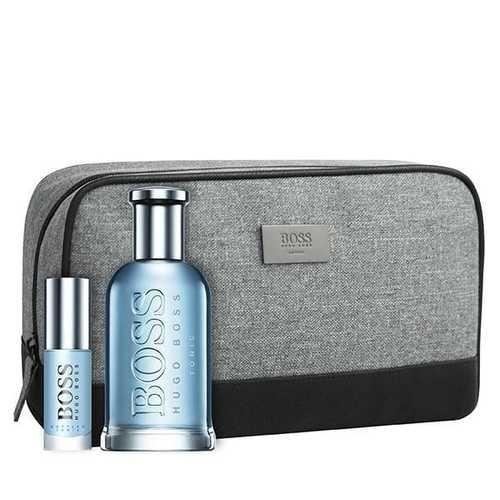 Hugo Boss Boss Bottled Tonic EDT 100 ml + EDT MINI 8 ml + Cosmetic bag (man)