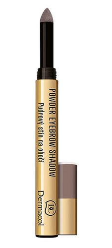 Dermacol Powder Eyebrow Shadow Eyebrow Pencil 1gr 2 oμορφια   μακιγιάζ   μακιγιάζ ματιών   μολύβια φρυδιών