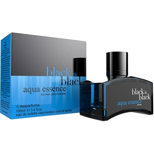 Nuparfums Black Is Black Aqua Essence Eau De Toilette 100ml