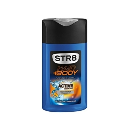 Str8 Active Reload Sprchovy Gel 400ml
