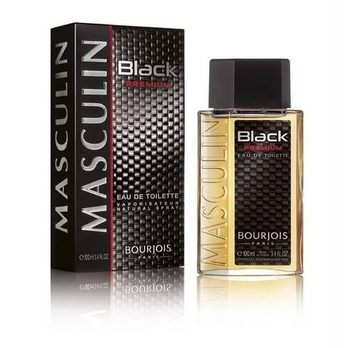 Bourjois Paris Masculin Black Premium Eau De Toilette 100ml