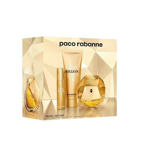 Paco Rabanne Lady Million Eau De Parfum 80ml Combo: Edp 80 Ml + Body Lotion 75 M oμορφια   αρώματα   αρώματα γυναικεία