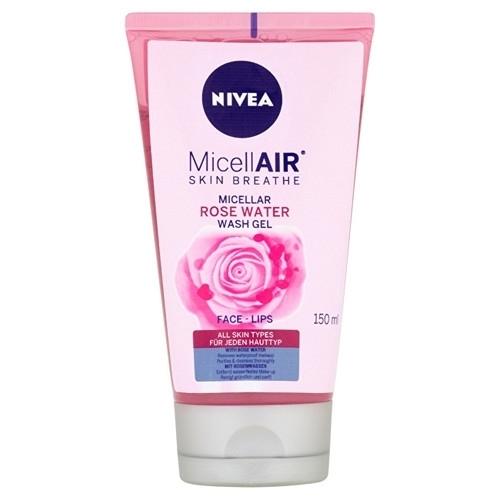 Nivea Micellar Rose Water Wash Gel - Micelarni Gel S Ruzovou Vodou 150ml