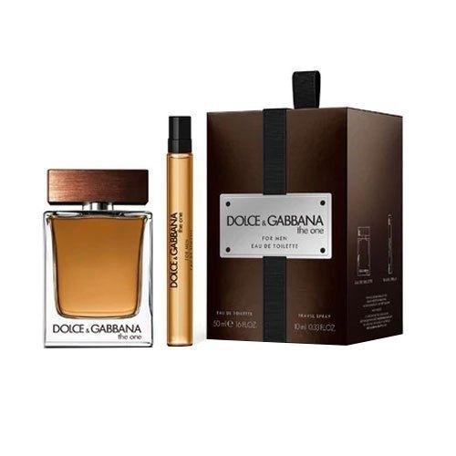 Dolce Gabbana The One For Men Darkova Sada Eau De Toilette 50 Ml A Miniaturka Ea oμορφια   αρώματα   αρώματα ανδρικά