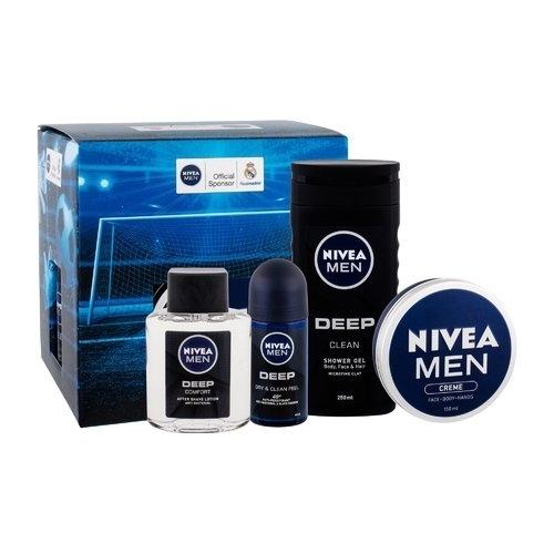 Nivea Men Deep Football Comfort Set - Darkova Sada Pro Muze oμορφια   μαλλιά   αξεσουάρ μαλλιών   σετ περιποίησης μαλλιών