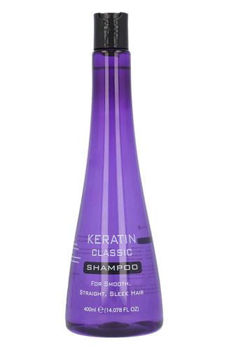 Xpel Keratin Classic Shampoo 400ml (Straight Hair)