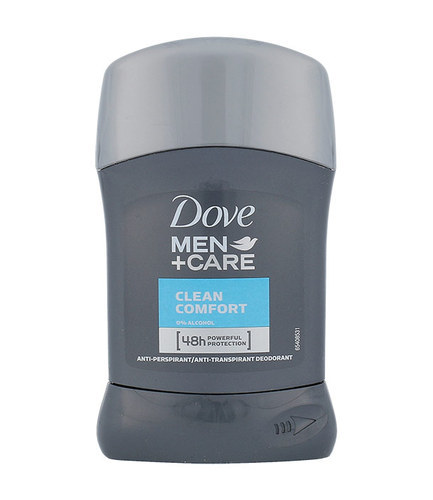 Dove Men & Care Clean Comfort 48H Deo Stick 50ml Without Alcohol