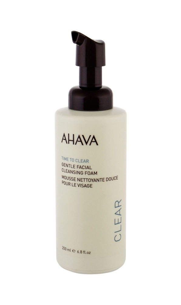 Ahava Clear Time To Clear Cleansing Mousse 200ml (All Skin Types)