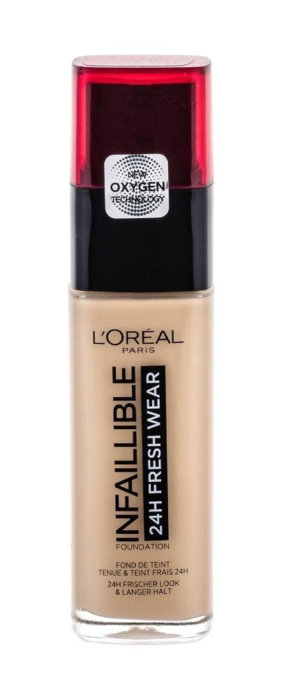 L/oreal Paris Infaillible 24h Fresh Wear Makeup 30ml 125 Natural Rose