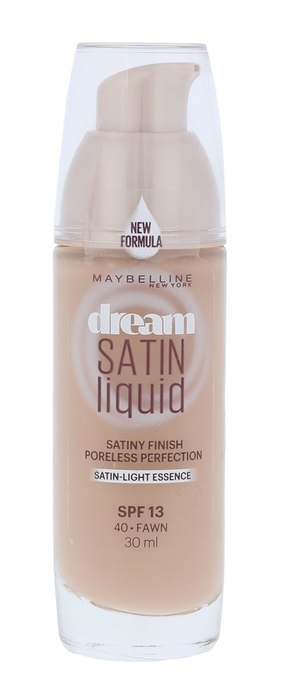 Maybelline Dream Satin Liquid Makeup 30ml Spf13 40 Fawn