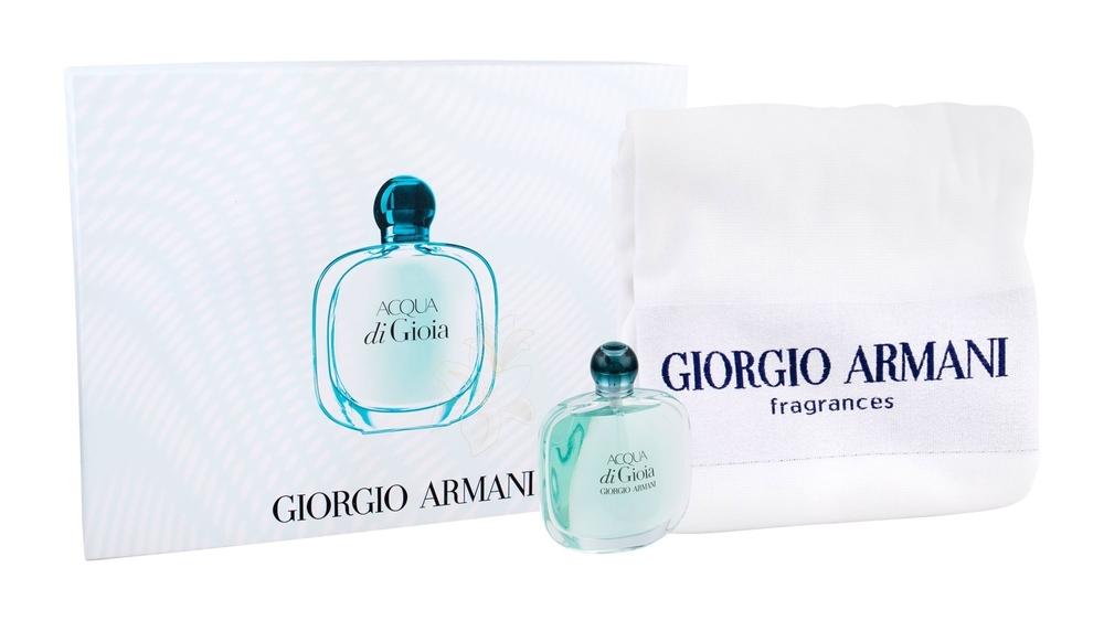 Giorgio Armani Acqua Di Gioia Eau De Parfum 100ml Combo: Edp 100 Ml + Towel