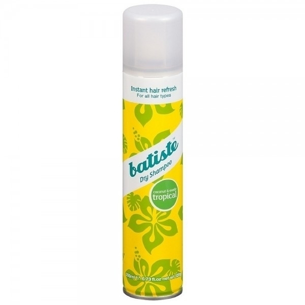 Batiste Dry Shampoo Tropical 200ml With Exotic Coconut Scent