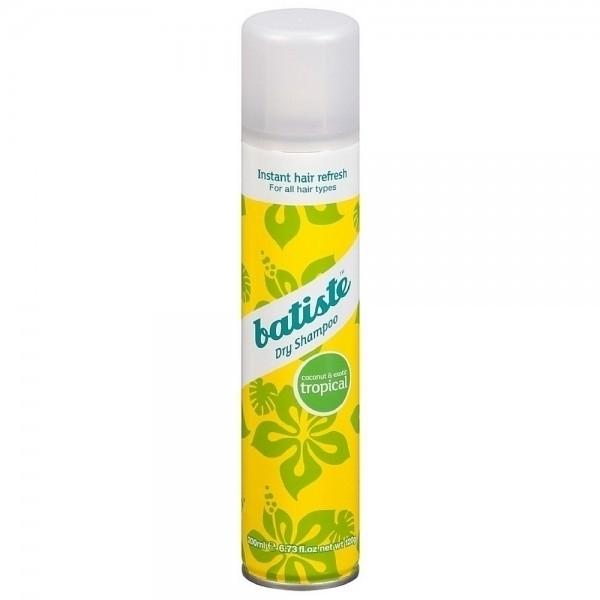 Batiste Dry Shampoo Tropical 200ml With Exotic Coconut Scent oμορφια   μαλλιά   φροντίδα μαλλιών   ξηρά σαμπουάν