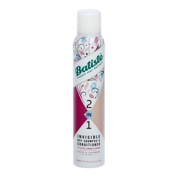 Batiste Dry Shampoo & Conditioner Cocoa & Cashmere 2-in-1 200ml oμορφια   μαλλιά   φροντίδα μαλλιών   σαμπουάν