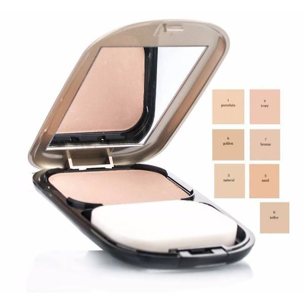 MAX FACTOR Facefinity Compact Foundation kryjacy podklad w kompakcie 08 Toffee 10g