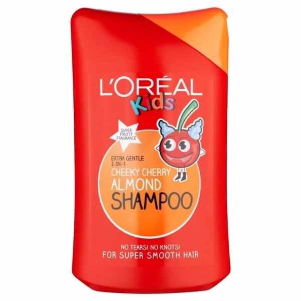 L/oreal Paris Kids 2in1 Cheeky Cherry Almond Shampoo 250ml (All Hair Types)
