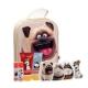 Universal The Secret Life Of Pets Toiletries Bag 50ml - Set Shower Gel 50ml & Shampoo 2 V 1 50ml & Lip Balm 2 X 4,5 G & Fizzy Bath Tablets 2 X 20 G & Magical Towel 2 τμχ & Bag