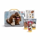 Universal The Secret Life Of Pets Shower Gel 50ml - Set Shower Gel 50ml + Shampoo Conditioner 2v1 50ml + 50ml Bath Foam + Stickers + Tin Case